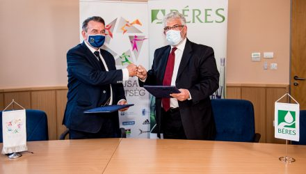 The Hungarian Pentathlon Association and Béres Pharmaceuticals have signed a partnership agreement